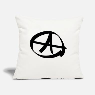 "Anarchy anarchy - Throw Pillow Cover 18"" x 18"""