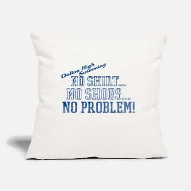 "Dalton High Swimming - Throw Pillow Cover 18"" x 18"""