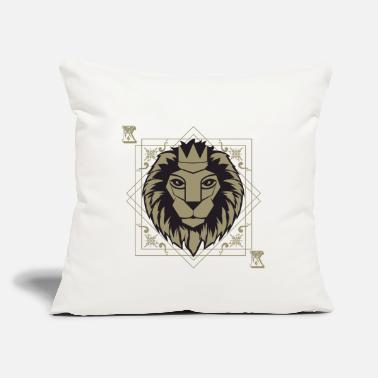 "King Deck Casino - Throw Pillow Cover 18"" x 18"""