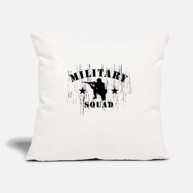 "Military Military squad - Throw Pillow Cover 18"" x 18"""