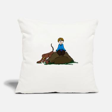 Search Search Dog - Throw Pillow Cover