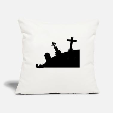"Tombstone Tombstones - Throw Pillow Cover 18"" x 18"""