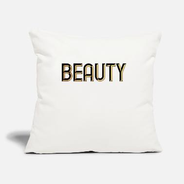 "Burlesque Beauty - beautiful - pretty - burlesque - glamour - Throw Pillow Cover 18"" x 18"""