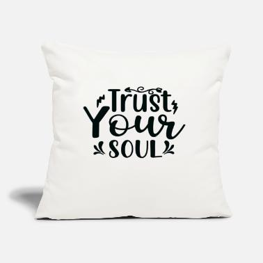 "Story Trust Your Soul - Throw Pillow Cover 18"" x 18"""
