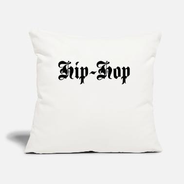 "Hop Hip-Hop - Throw Pillow Cover 18"" x 18"""