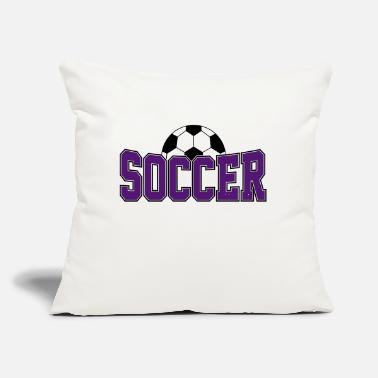 "Soccer Ball Soccer Ball , Soccer Player, Soccer Ball - Throw Pillow Cover 18"" x 18"""