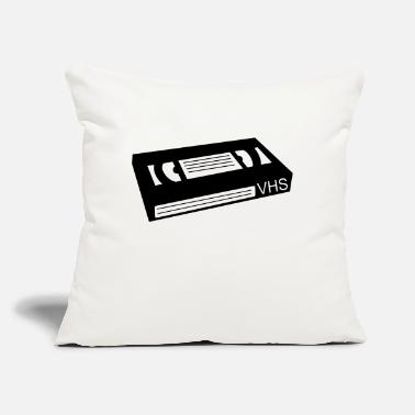 "Vhs Tapes Vhs video cassette tape - Throw Pillow Cover 18"" x 18"""