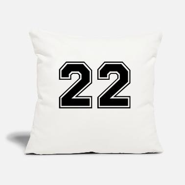 "22 22 - Throw Pillow Cover 18"" x 18"""
