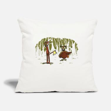 "Over Over there - Throw Pillow Cover 18"" x 18"""