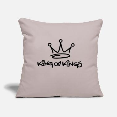 "King king of kings - Throw Pillow Cover 18"" x 18"""