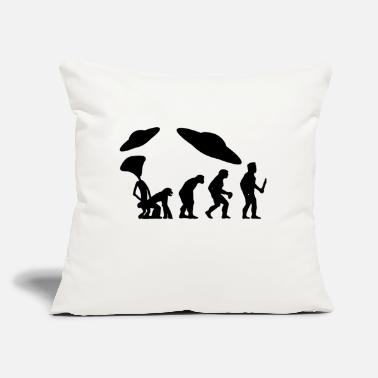 "Evolution EVOLUTION the real evolution - Throw Pillow Cover 18"" x 18"""