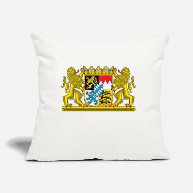 "Coat Bavaria Coat Of Arms - Throw Pillow Cover 18"" x 18"""