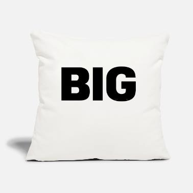 "Big BIG - Throw Pillow Cover 18"" x 18"""