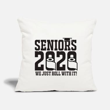 "High School Graduate Seniors 2020 We Just Roll With It! - Throw Pillow Cover 18"" x 18"""
