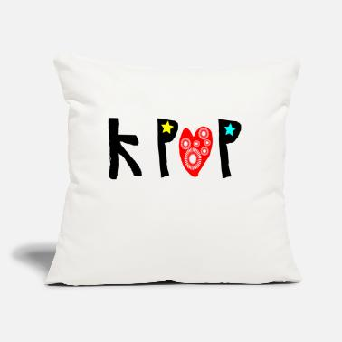 "Graphic Art kpop_txt graphic art - Throw Pillow Cover 18"" x 18"""