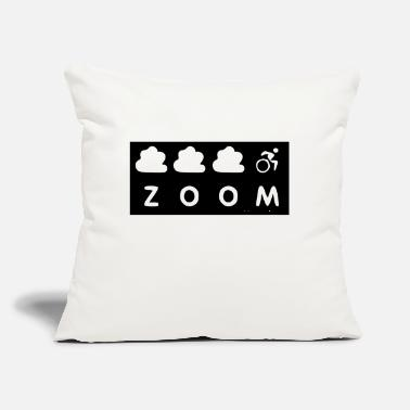 "Zoom The Original Zoom - Throw Pillow Cover 18"" x 18"""