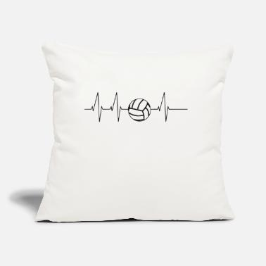 "Volley volley puls - Throw Pillow Cover 18"" x 18"""