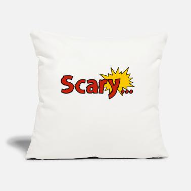 "Scary Scary... - Throw Pillow Cover 18"" x 18"""