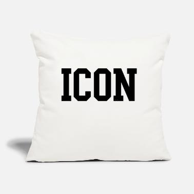 "Icon icon - Throw Pillow Cover 18"" x 18"""