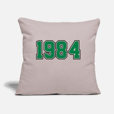 "Year Of Birth 1984 | Year of Birth | Birth Year | Birthday - Throw Pillow Cover 18"" x 18"""