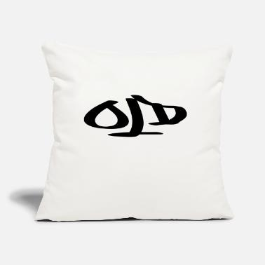 "Old old - Throw Pillow Cover 18"" x 18"""