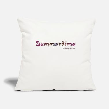 "Summertime Summertime - Throw Pillow Cover 18"" x 18"""