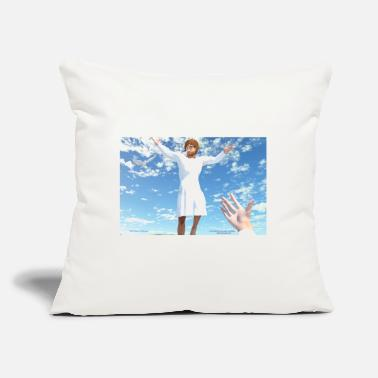"Rosary Ascension of Jesus - Throw Pillow Cover 18"" x 18"""