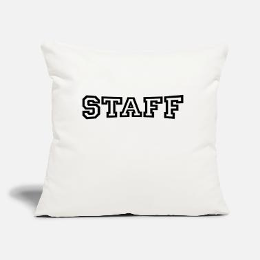 Staff Staff - Throw Pillow Cover