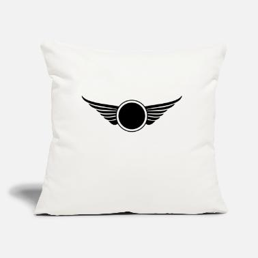 "Initial initial - Throw Pillow Cover 18"" x 18"""
