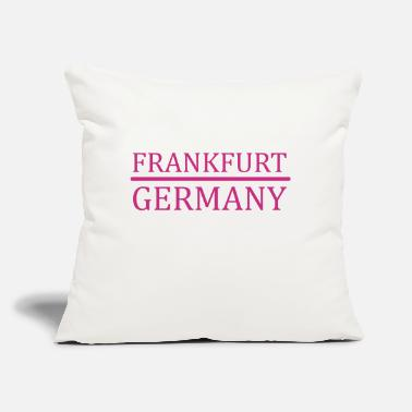 "Frankfurt Frankfurt - Germany - Throw Pillow Cover 18"" x 18"""