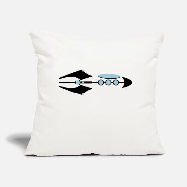 "Toy rocket - Throw Pillow Cover 18"" x 18"""