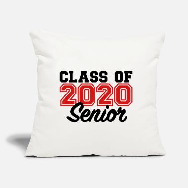 "Senior Class Of 2020 Class of 2020 - Throw Pillow Cover 18"" x 18"""