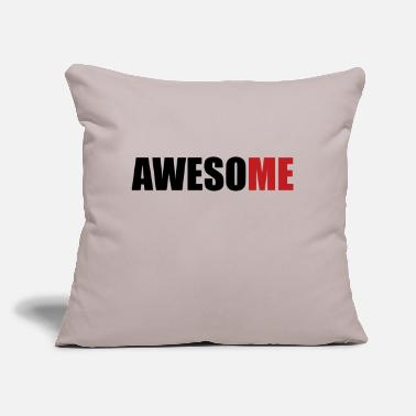 "AwesoME - Throw Pillow Cover 18"" x 18"""