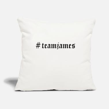 "James Charles # Team James - Throw Pillow Cover 18"" x 18"""