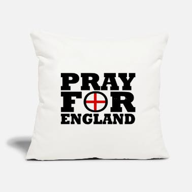 "England England / Pray For England - Throw Pillow Cover 18"" x 18"""