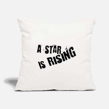 "A star is rising - Throw Pillow Cover 18"" x 18"""