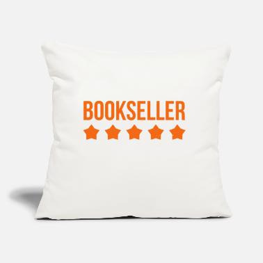 "Bookseller - Reading - Culture - Library - Throw Pillow Cover 18"" x 18"""