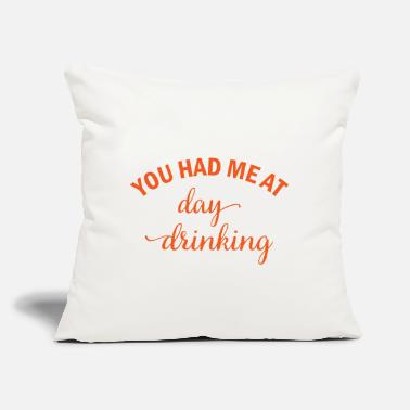 "Mallorca You had me at day drinking beer alcohol gift - Throw Pillow Cover 18"" x 18"""