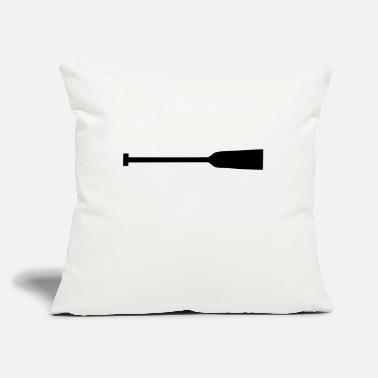 "Dragon Boat Dragon Boat Paddle - Throw Pillow Cover 18"" x 18"""
