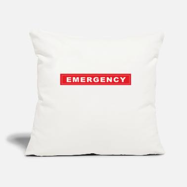 "Emergency emergency - Throw Pillow Cover 18"" x 18"""