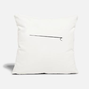 "marker underline - Throw Pillow Cover 18"" x 18"""