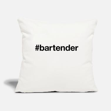 "Bartender BARTENDER - Throw Pillow Cover 18"" x 18"""
