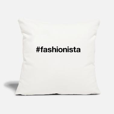 "Fashionista Clothing FASHIONISTA - Throw Pillow Cover 18"" x 18"""