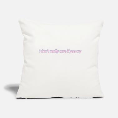 "Rap rap - Throw Pillow Cover 18"" x 18"""