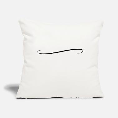 "underline1 - Throw Pillow Cover 18"" x 18"""
