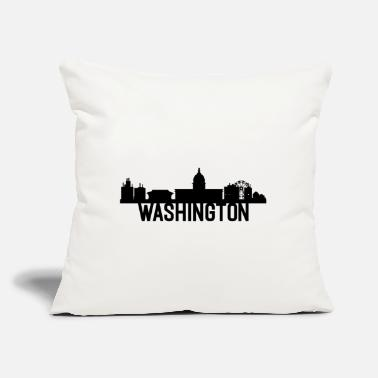 "Washington US State Design For Washingtonians - Throw Pillow Cover 18"" x 18"""