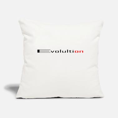 "Evolution Evolution on - Throw Pillow Cover 18"" x 18"""