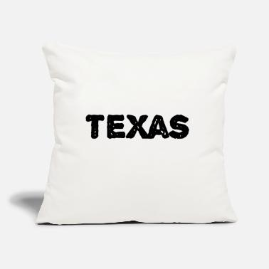 "Texas Texas - Throw Pillow Cover 18"" x 18"""