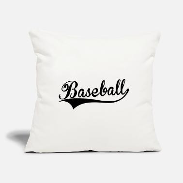 "Swoosh Baseball swoosh - Throw Pillow Cover 18"" x 18"""