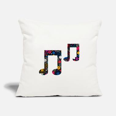 "Sheet Sheet music Sheet music - Throw Pillow Cover 18"" x 18"""